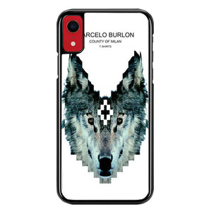 Marcelo Burlon County Of Milan W5316 iPhone XR Case