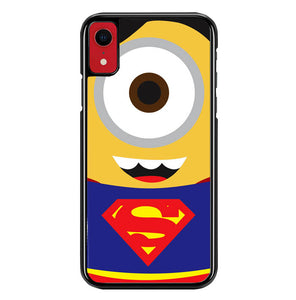 minion superman W5324 iPhone XR Case