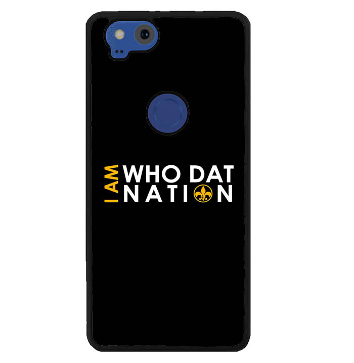 I am Who Dat  W5335 Google Pixel 2 Case