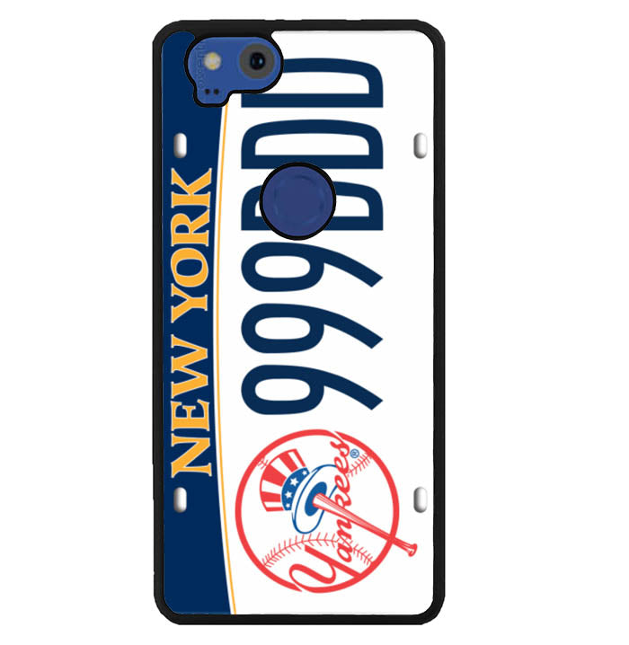 Ny Yankees License Plates W5371 Google Pixel 2 Case