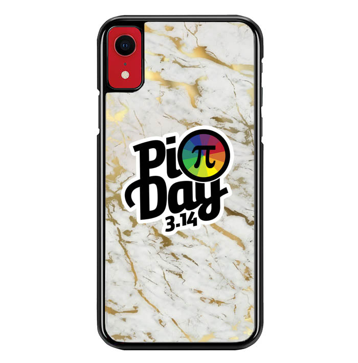 pi day poster W5412 iPhone XR Case