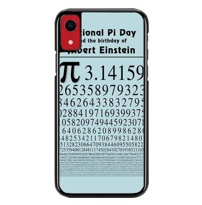 poster pi day W5413 iPhone XR Case
