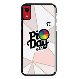 poster pi day W5417 iPhone XR Case