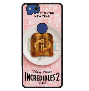 incredibles 2 W5727 Google Pixel 2 Case