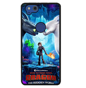 the hidden world dragon W5747 Google Pixel 2 Case