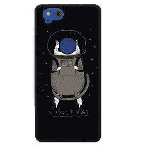 space cat W7016 Google Pixel 2 Case