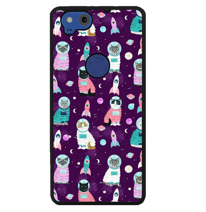 space cat W7017 Google Pixel 2 Case
