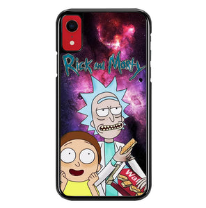 rick and morty W8512 iPhone XR Case