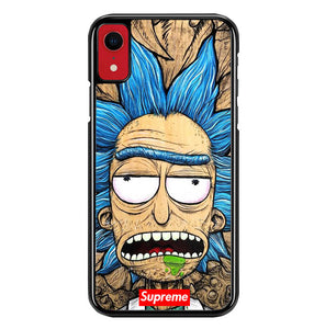 rick and morty W8515 iPhone XR Case