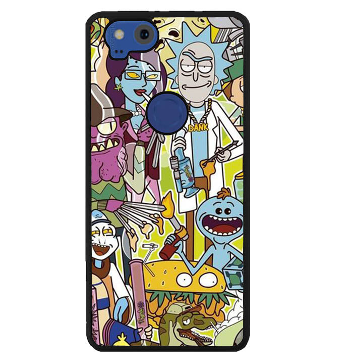 rick and morty W8541 Google Pixel 2 Case