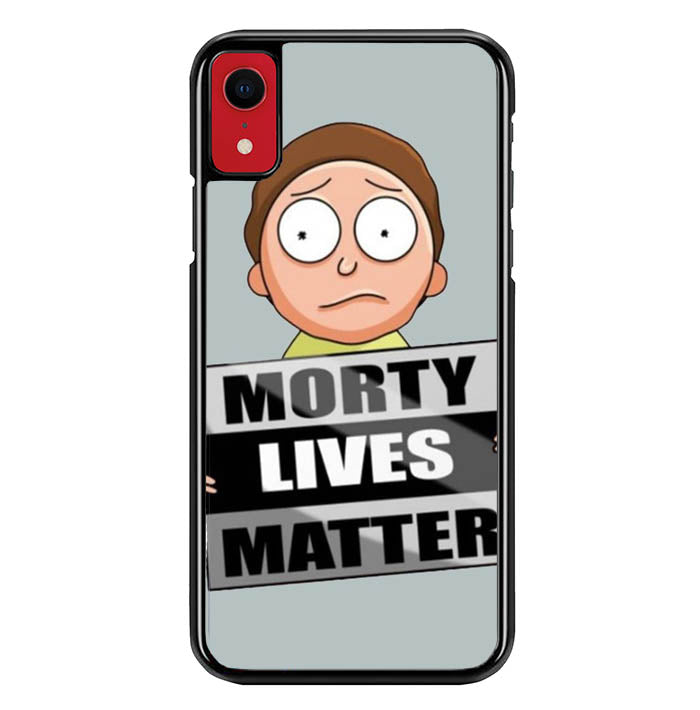 rick and morty W8546 iPhone XR Case