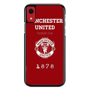 minchester united W8586 iPhone XR Case