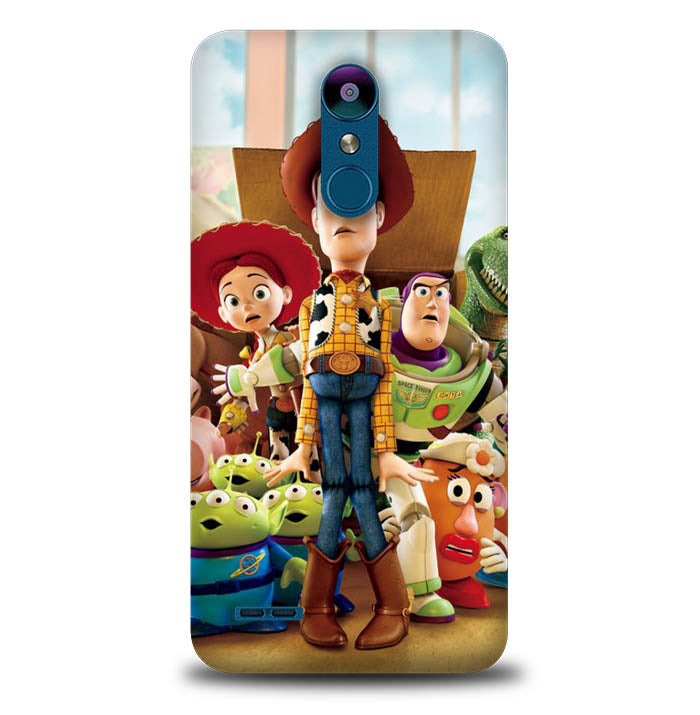 Toy Story W8590 LG K8 2018, K8 Plus 2018, Aristo 2, Aristo 2 Plus, Fortune 2, Risio 3, Zone 4, Rebel 4, Tribute Dynasty, Case
