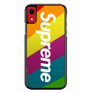 supreme W8658 iPhone XR Case