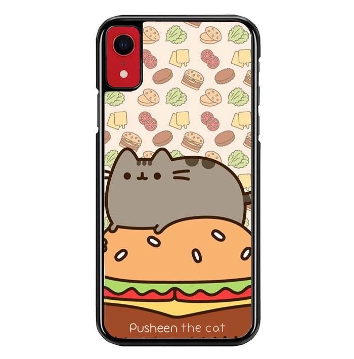 pusheen cat W8696 iPhone XR Case