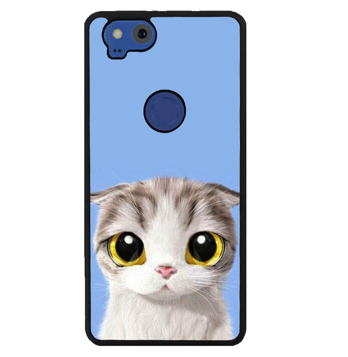 kawaii cat W8701 Google Pixel 2 Case