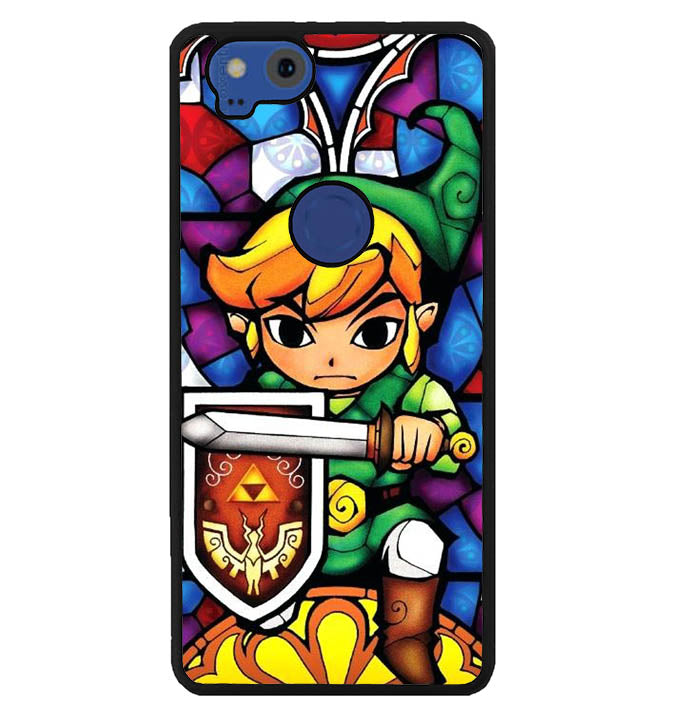 Pictures Of Stained Glass Legend Of Zelda W8735 Google Pixel 2 Case