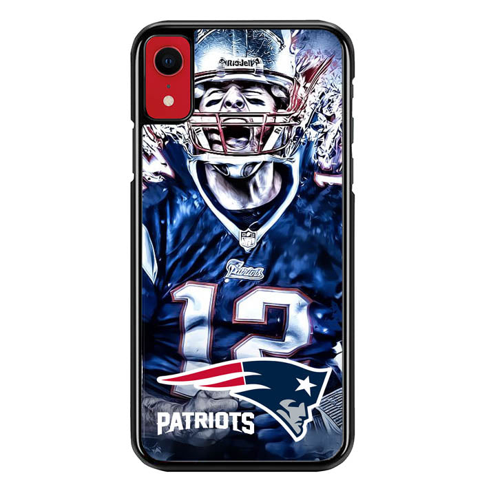 new england patriots W8765 iPhone XR Case