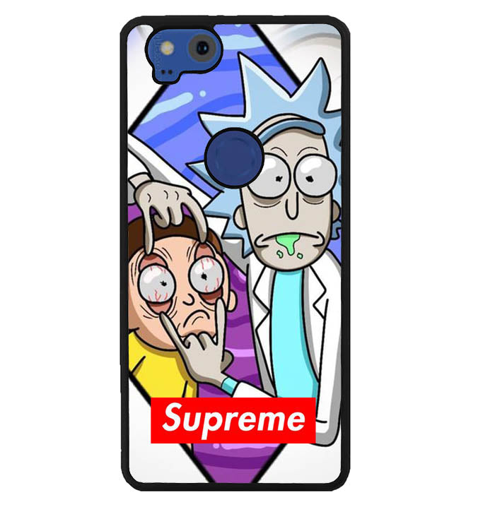 rick and morty supreme W8812 Google Pixel 2 Case