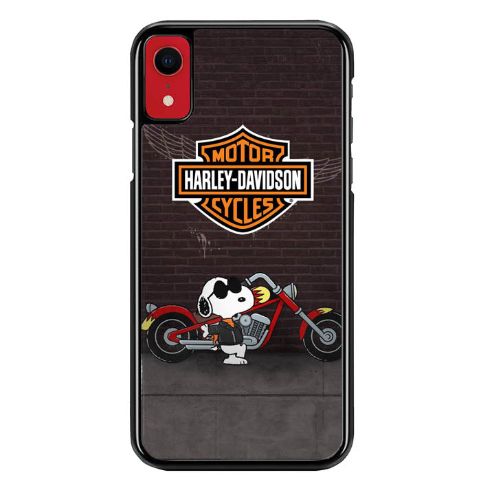 snoopy harley davidson W8816 iPhone XR Case