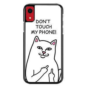 ripndip dont touch my phone W8827 iPhone XR Case