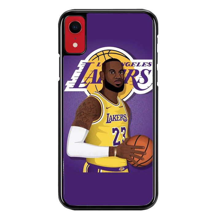 los angeles lakers W8848 iPhone XR Case