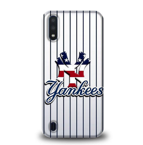 new york yankees W8872 Samsung Galaxy A01 Case