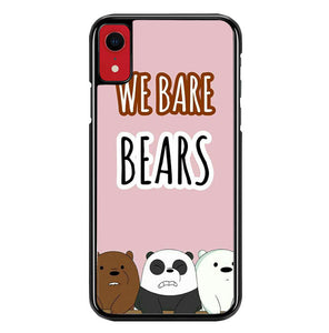 we bare bears W8888 iPhone XR Case