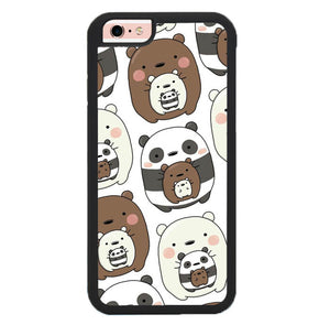 we bare bears W8898 iPhone 6, 6S Case
