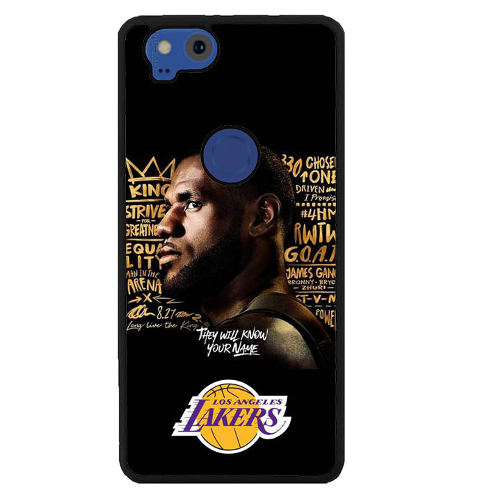 Lakers W8908 Google Pixel 2 Case