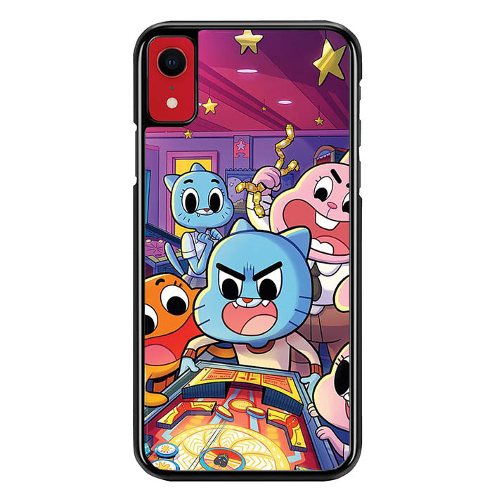 the amazing world og gumball W8990 iPhone XR Case