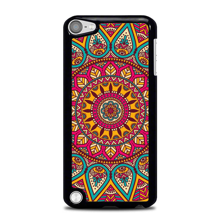 INDIAN FLOWER WY0084 iPod Touch 5 Case