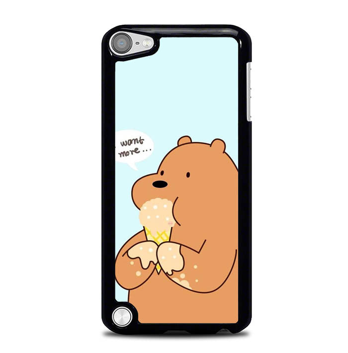 bare bears WY0108 iPod Touch 5 Case
