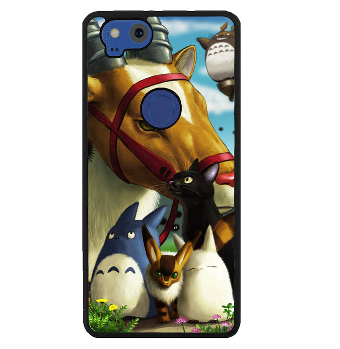 JIJI studio ghibli WALLPAPER Y1004 Google Pixel 2 Case