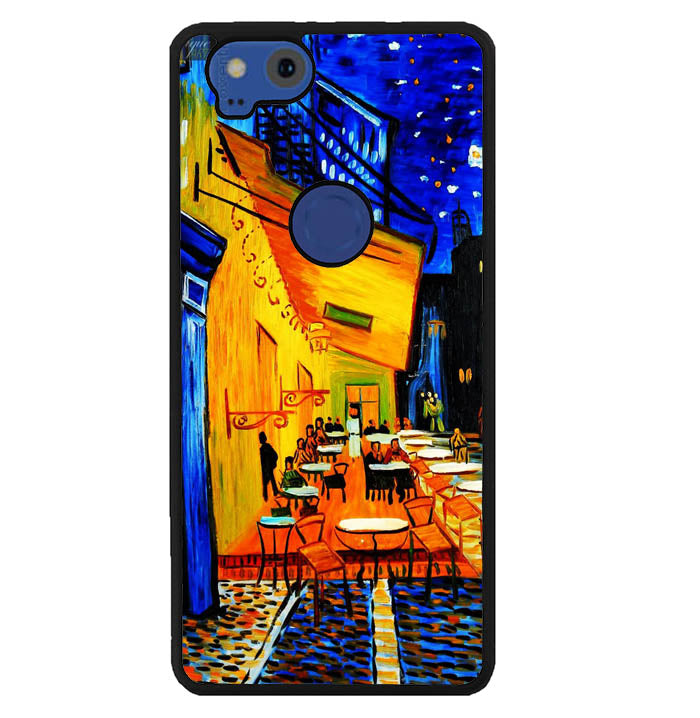 Cafe terrace Night by Vincent Van Gogh Y1653 Google Pixel 2 Case