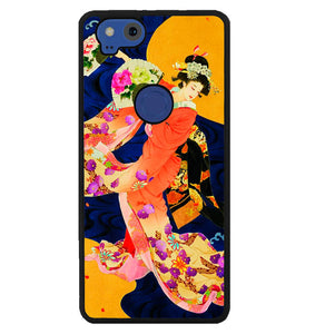 Japanese Geisha Asian Y1714 Google Pixel 2 Case