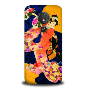 Japanese Geisha Asian Y1714 Motorola Moto G7 Power Case