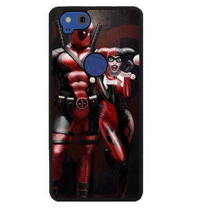 Harley Quinn and Deadpool Y1742 Google Pixel 2 Case