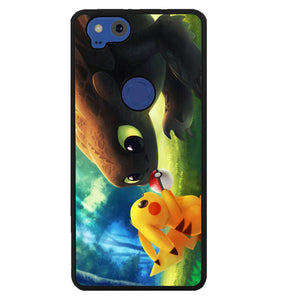 toothless and pikachu Y1835 Google Pixel 2 Case