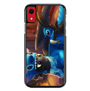 stitch and toothless Y1839 iPhone XR Case