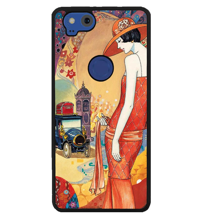 Paris Deco Art Y1937 Google Pixel 2 Case