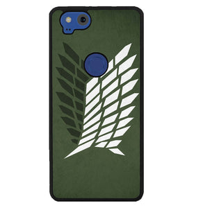 Attack on Titan Survey LOGO Y2072 Google Pixel 2 Case