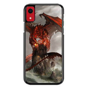 red dragon wallpaper Y2152 iPhone XR Case