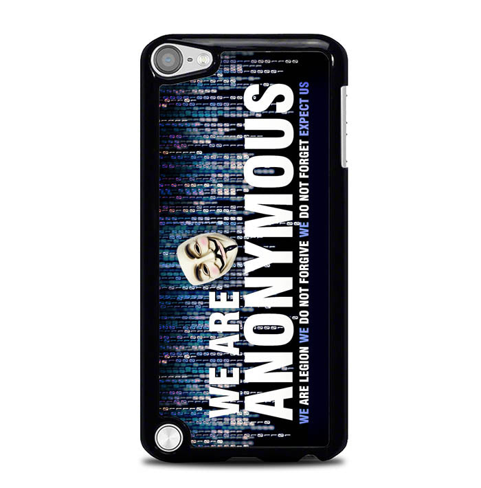 anonymous wallpaper Y2170 iPod Touch 5 Case