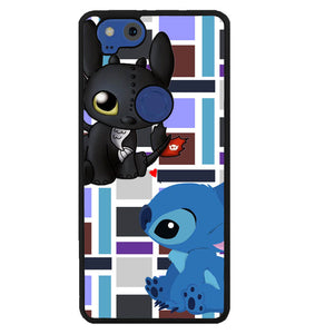 Stitch Toothless Y2889 Google Pixel 2 Case
