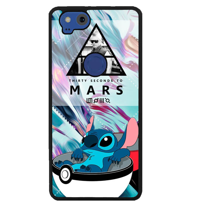POKEMON ball stitch 30 seconds to mars Y2897 Google Pixel 2 Case