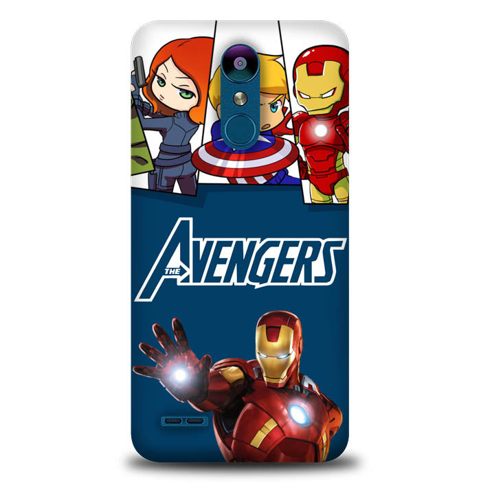 avengers Y3073 LG K8 2018, K8 Plus 2018, Aristo 2, Aristo 2 Plus, Fortune 2, Risio 3, Zone 4, Rebel 4, Tribute Dynasty, Case