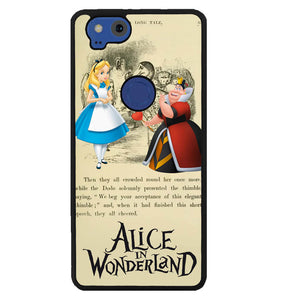 Alice In Wonderland Y3089 Google Pixel 2 Case