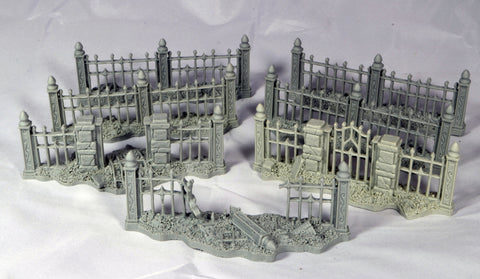 Saepes Fences - Unpainted