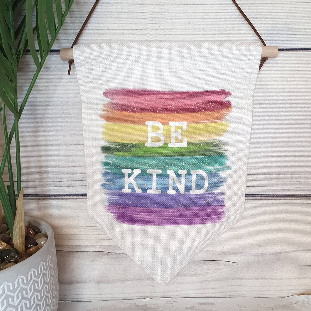 Be Kind Pennant Banner